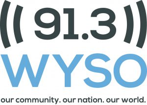 WYSO logo: our community. our nation. our world.